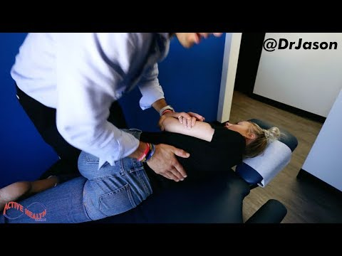 Dr. Jason - YouTuber Corinna Kopf - Upper Back Pain, Neck Pain, Relief From Alignment