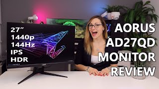 The AORUS monitor... rocks?! | Gigabyte AORUS AD27QD Review