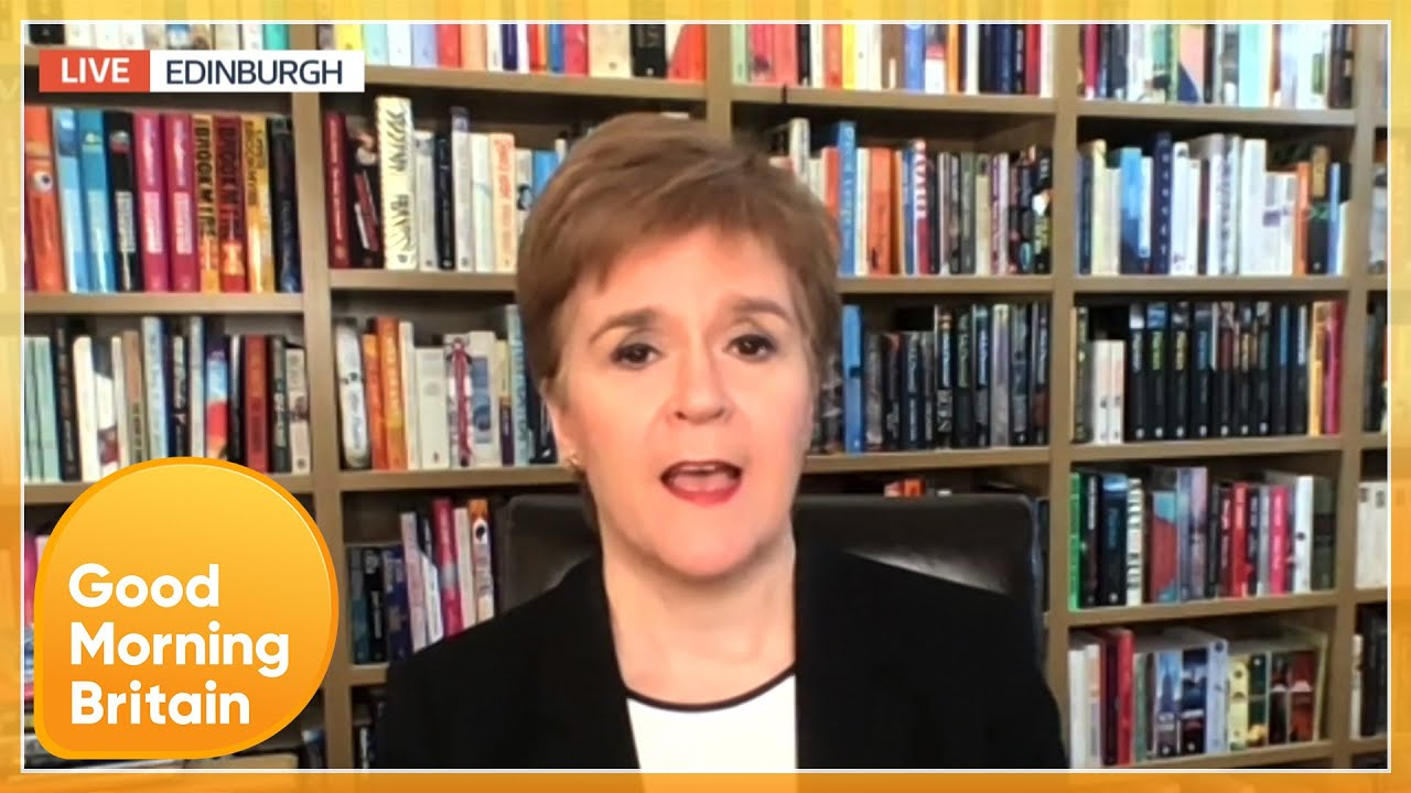 Nicola Sturgeon Calls Government GMB Boycott 'Disgraceful' | Good Morning Britain