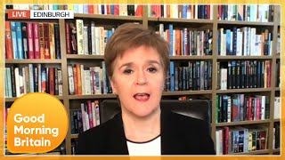 Nicola Sturgeon Calls Government GMB Boycott 'Disgraceful' | Good Morning Britain