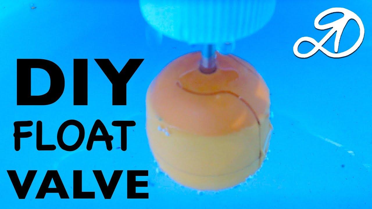 sc 1 st  YouTube & Float valve homemade. How to make float valve DIY - YouTube