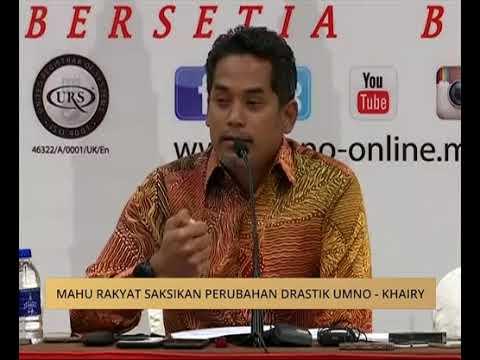 Mahu rakyat saksikan perubahan drastik UMNO  Khairy