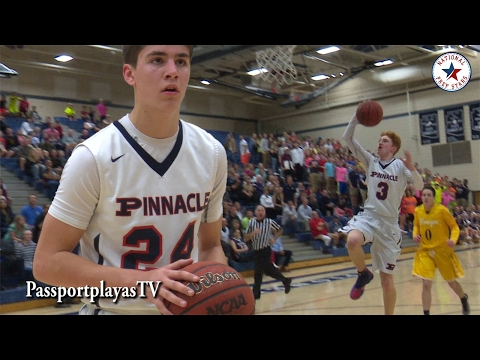 Pinnacle SETS school record with 118 points! Nico Mannion has in game DUNK!!!