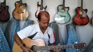 Hazar tarar aloy vora Guitar by Ajit mobile 9856464782