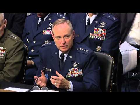 Geography Matters: Begich Presses USAF Chief of Staff  Nominee on Alaska Military Importance