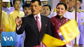 Thai King Makes Rare Visit to Chinatown in Bangkok