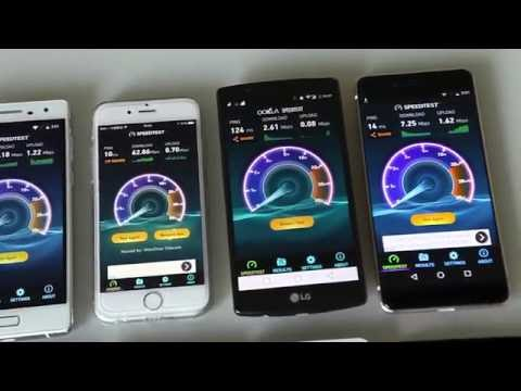 Brief Introduction of WiFi Standards & Bluboo Xtouch WiFi Speed Test Comparison
