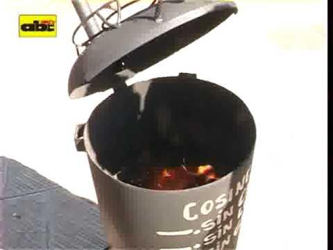 Cocina sin gas sin carb n y sin le a youtube - Como hacer una cocina de lena ...