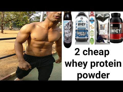 2 Cheapest effective whey protein buy in India | online, Amazon | affordable whey protein