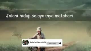 Story Wa Lagu Sholawat Bikin Baper