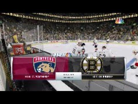 NHL 18 Florida Panthers Vs Boston Bruins