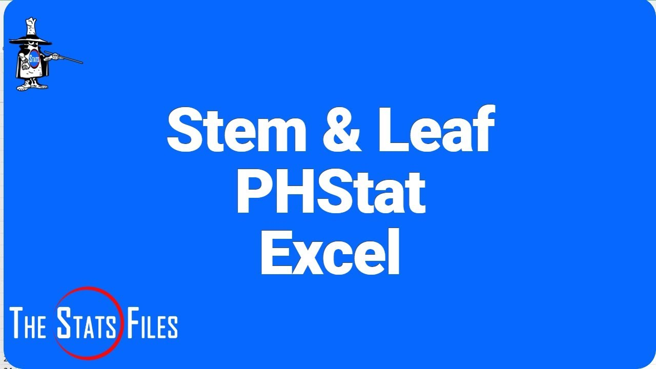 Stem and leaf plot using phstat and excel two sided stem and leaf stem and leaf plot using phstat and excel ccuart Choice Image