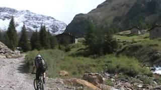 Alpencross 2010 Albrecht Route MTB Transalp