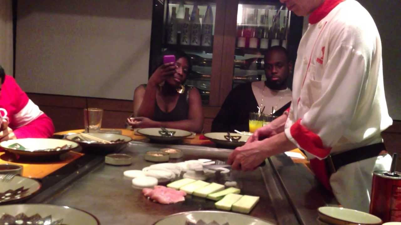 Benihana - New York - YouTube
