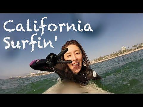 GoPro:California Surfin' @ Santa Monica beach