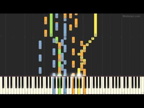 Kansas - Dust In The Wind (Piano Tutorial) [Synthesia Cover]