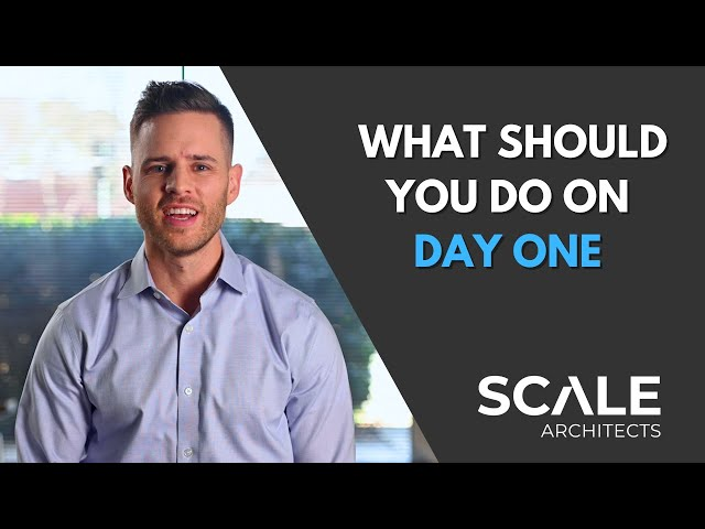 What should you do on day one of an executive offsite