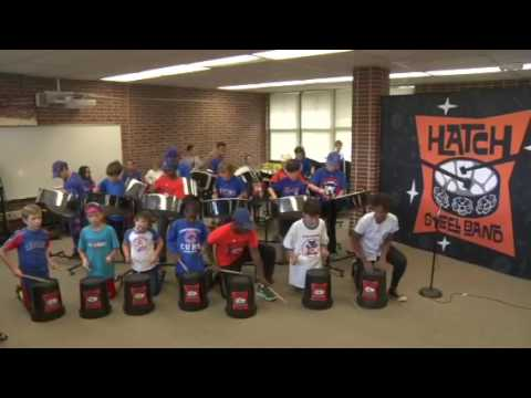 Hatch Steel Drum Band- Go Cubs Go!