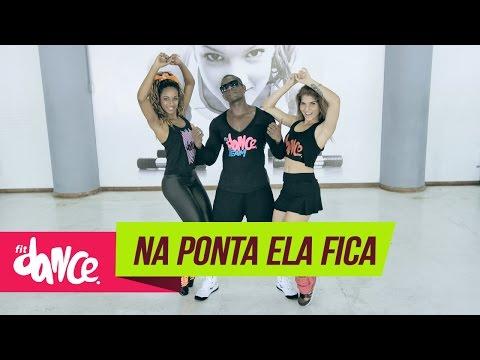 Mc Delano - Na Ponta Ela Fica - FitDance - 4k | Coreografia