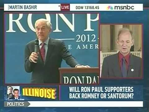 """Tim Johnson Of Illinois """"Ron Paul Is A Bastion Of Integrity"""""""