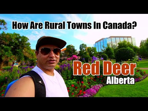 RED DEER - Alberta Hi-Fi Town In Rural Canada | Canadian Vlogs