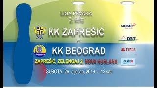 2019 - KK ZAPREŠIĆ (CRO) - KK BEOGRAD (SRB) - Champions League 1/4