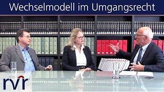 Wechselmodell im Umgangsrecht