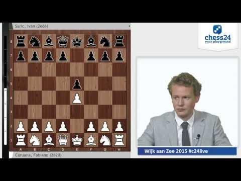Caruana - Saric, Wijk aan Zee 2015: Grandmaster Analysis