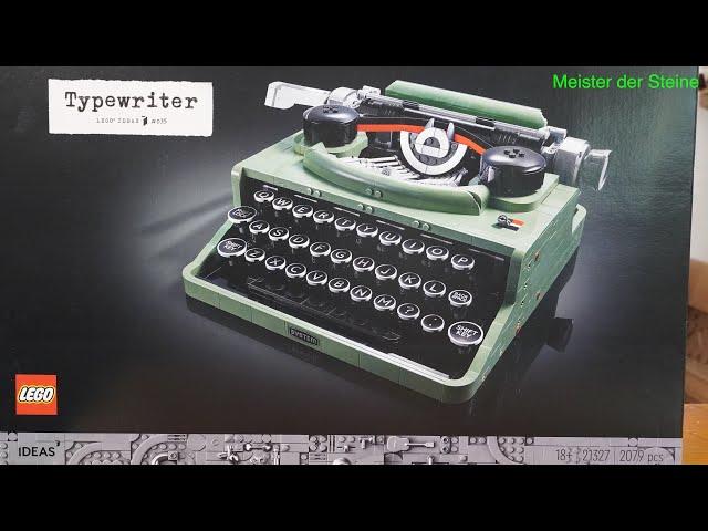 LEGO® Ideas 21327, Typewriter, Meister der Steine