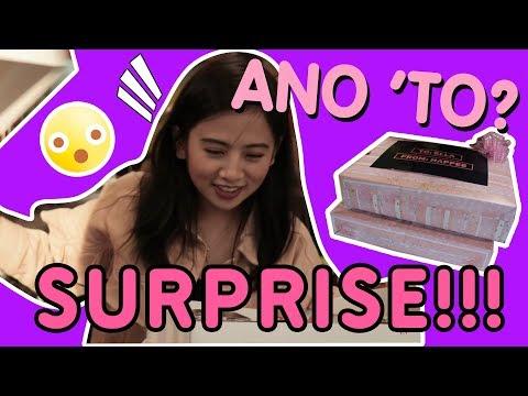 Happee Hour:  Ella Receives A Mystery Box