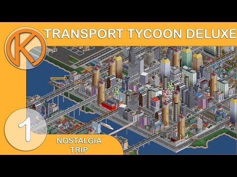 Nostalgia Trip | Transport Tycoon Deluxe [1] - COAL DOLLARS | Let's Play OpenTTD Gameplay