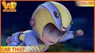 Vir: The Robot Boy | Car Thief | English Episodes | Action cartoons for Kids | 3D cartoons