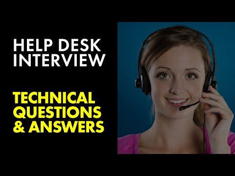 How To Pass Help Desk Analyst Job Interview: Windows 10 Questions and Answers