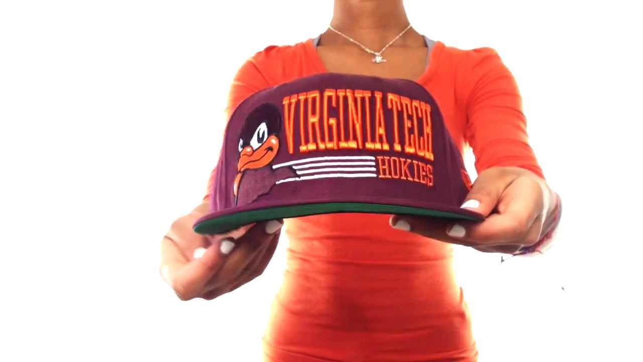 d782f5e2cf6 Virginia Tech  RETRO-SNAPBACK  Burgundy Hat by New Era - YouTube