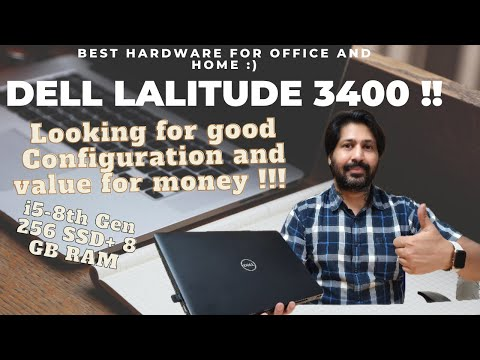 Dell Latitude 3400 14 inch |Best hardware configuration| Windows 10 | i5 8th Generation | Best Buy