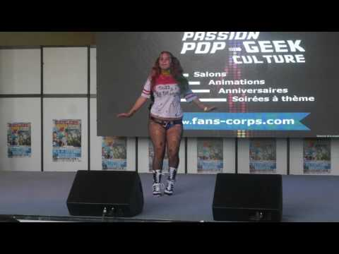 related image - Mangame Show - Fréjus - 2016 - Concours Cosplay Samedi - 06 - Harley Queen