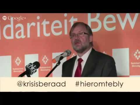 Krisisberaad - Flip Buys toespraak (5 Mei 2015)
