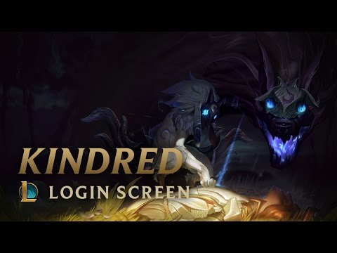 Kindred, the Eternal Hunters  Login Screen  League of Legends
