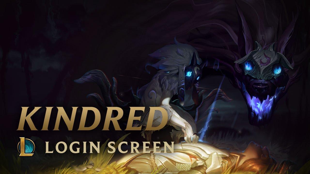 Kindred The Eternal Hunters Login Screen League Of Legends