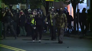 VIDEO: Officer injured, 24 arrested as Portland protests continue