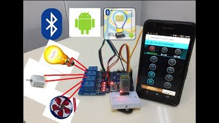 Akıllı Ev Sistemleri (Ev Otomasyonu) Yapımı  Arduino & Android & Bluetooth & HC-05