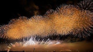 [4K60p] 2019 大曲の花火 大会提供「令和祝祭」Omagari Fireworks