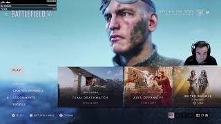 Battlefield 5 live New Update ,New Maps Multiplayer stream 1080p  | battlefield PS4