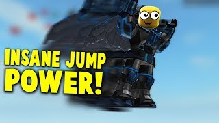 THIS HAPPENS WHEN YOU BEAT THE GAME!? - Ultra Jump Simulator Roblox