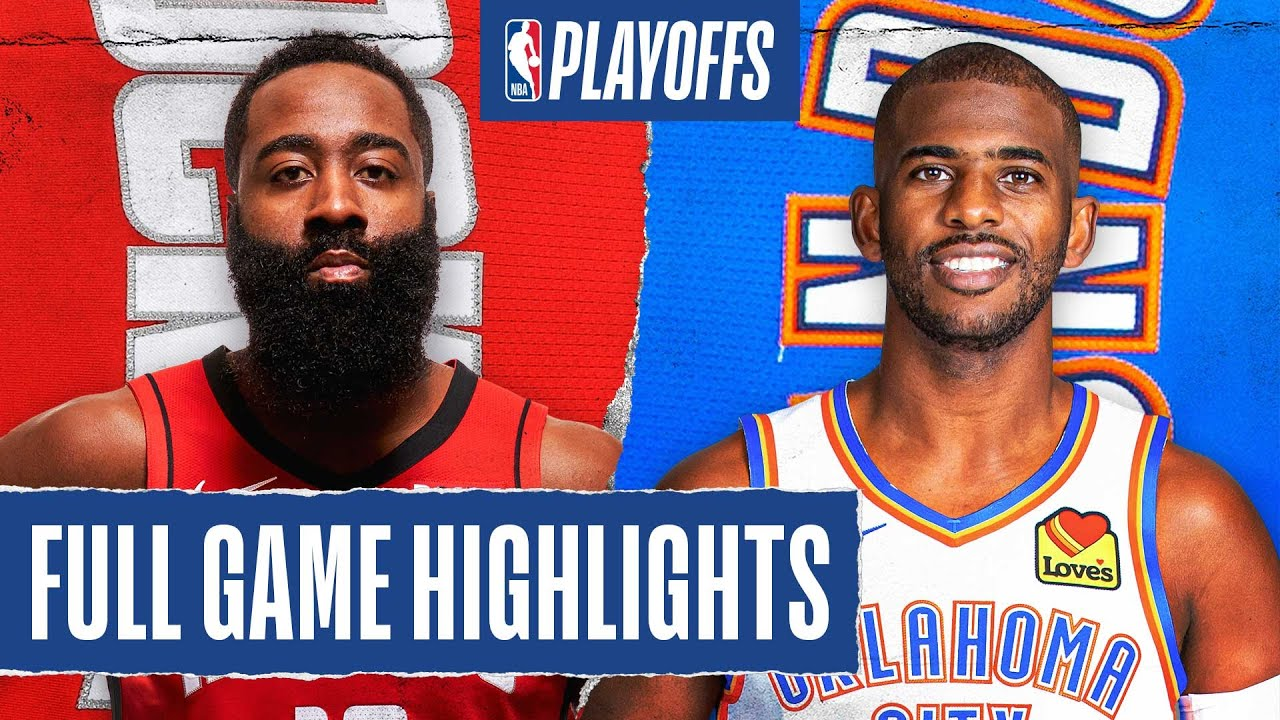 ROCKETS at THUNDER | FULL GAME HIGHLIGHTS | August 24, 2020