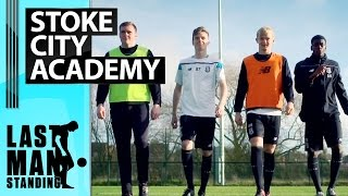 Last Man Standing - Tyre Challenge with Stoke City Academy