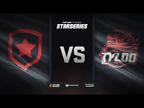 Gambit vs TyLoo, cobblestone, SL i-League StarSeries Season 3 Finals