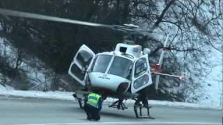 2012-01-12 Désincarceration et héliportage Rte Gd-St Bernard vers Bovernier montage