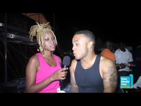 Antigua Carnival 2013: Ricardo Drue: Back Stage Interview