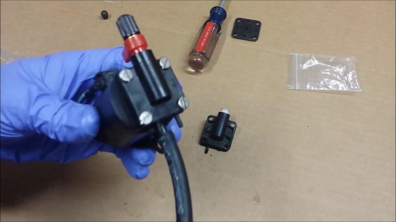 small resolution of rebuilding a johnson evinrude primer solenoid